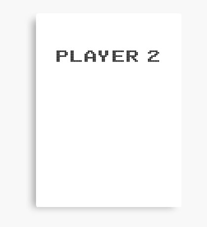 Player 2 Canvas Print