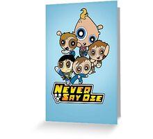 Powerpuff Goonies Greeting Card