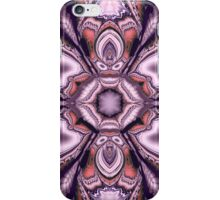 Fractal Fantasy Flower in pink and purple iPhone Case/Skin
