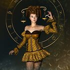 Libra fantasy zodiac sign by Britta Glodde