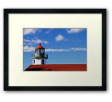 Alki Point Lighthouse Framed Print