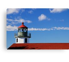 Alki Point Lighthouse Canvas Print