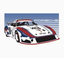 Porsche 935 Group 5 Moby Dick T-Shirt