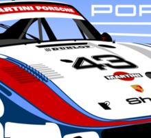 Porsche 935 Group 5 Moby Dick Sticker