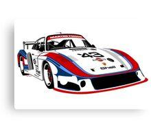 Porsche 935 Group 5 Moby Dick Canvas Print