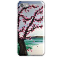 Cherry Blossoms and Chrystal Lakes iPhone Case/Skin