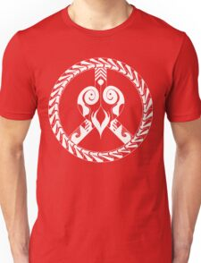 heart and peace symbol Unisex T-Shirt
