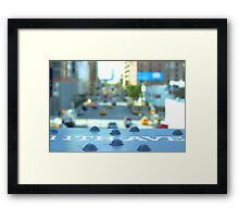 NYC 11th Ave. Framed Print