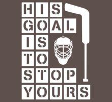Ice Hockey Goalie  by elle-tori