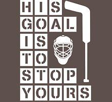 Ice Hockey Goalie  Unisex T-Shirt