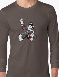 Ash 'Evil Dead' (1920s style) Long Sleeve T-Shirt