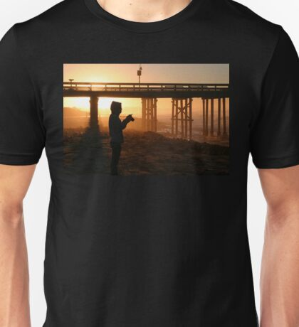 Photographer At Sunset Unisex T-Shirt