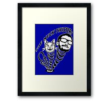 Neck Twisters Framed Print