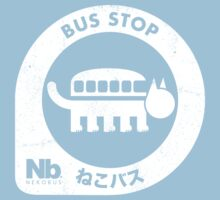 Neko Bus Stop One Piece - Short Sleeve