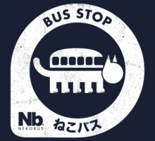 Neko Bus Stop One Piece - Long Sleeve