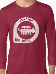 Neko Bus Stop Long Sleeve T-Shirt