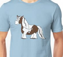 Gypsy Vanner (Brown) Unisex T-Shirt