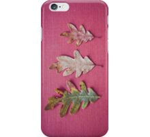 Three Leaves iPhone Case/Skin