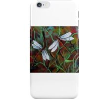 dancing dragonflies  iPhone Case/Skin