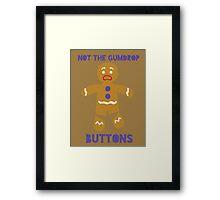 Le Gumdrop Buttons  Framed Print