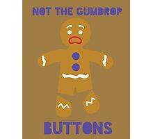 Le Gumdrop Buttons  Photographic Print