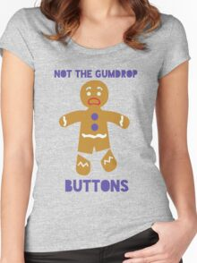 Le Gumdrop Buttons  Women's Fitted Scoop T-Shirt