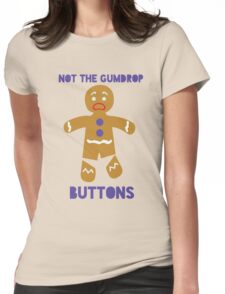 Le Gumdrop Buttons  Womens Fitted T-Shirt