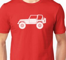 Lifted off-road 4x4 For Jeep Wrangler YJ enthusiasts Unisex T-Shirt