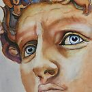 Michelangelo's David...in Color (Florence) by Christiane  Kingsley