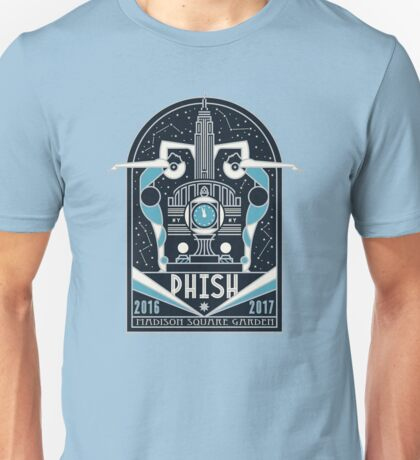 phish tour 2016-2017 in madison square garden Unisex T-Shirt