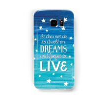 """Harry Potter: Dumbledore """"Dreams"""" Quote Samsung Galaxy Case/Skin"""