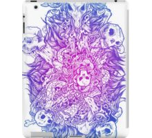 Goats and skulls and gore oh my! iPad Case/Skin