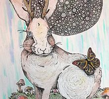 Jackalope Dreaming by casualmatador