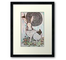 Jackalope Dreaming Framed Print