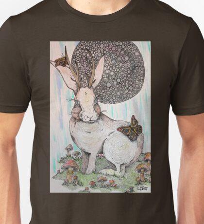 Jackalope Dreaming Unisex T-Shirt