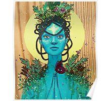Meditation on Mother Nature Poster