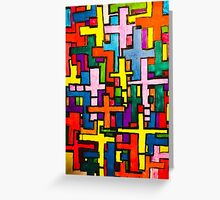 Colours Many of Christ 1 Greeting Card