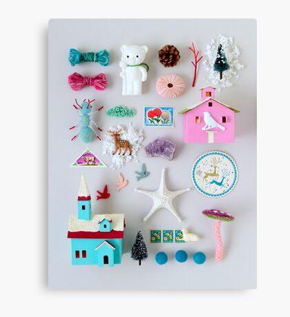 Holiday Miniatures Canvas Print