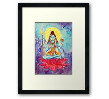 Destruction, Shiva Framed Print