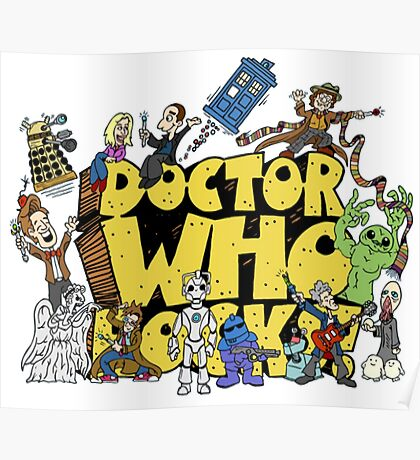 Doctor Who Rocks Poster