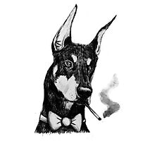Smokin Dobe Photographic Print