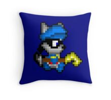 Retro Sly Cooper Throw Pillow