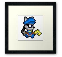Retro Sly Cooper Framed Print