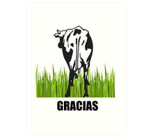 GRACIAS (Thank You) Art Print