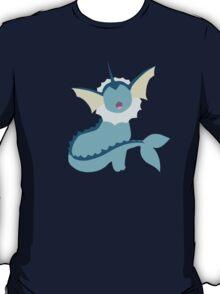 Vaporeon Minimalist T-Shirt