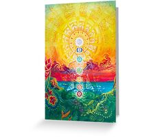 Sol Vibes Greeting Card