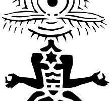 Meditator - Eyepeople by mapartstudio