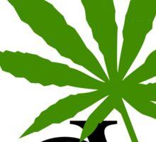 Love Marijuana Cannabis Sticker