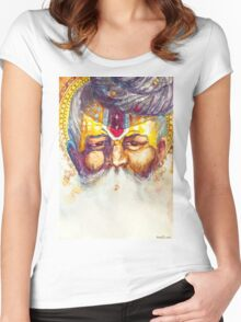 Sacred Smoke Women's Fitted Scoop T-Shirt