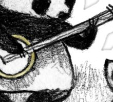 Banjo Panda Sticker